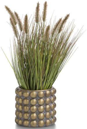 COCO maison Pennisetum grass plant H58cm  Kunstbloem