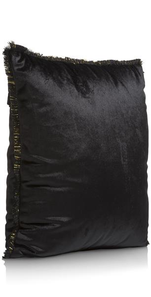 COCO maison Siri kussen 45x45cm - zwart  Sierkussen