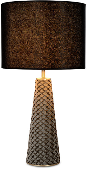 Feelings Cone tafellamp grijs / zwart Tafellamp