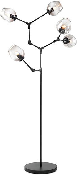 Feelings Flame vloerlamp 5-lichts zwart Vloerlamp