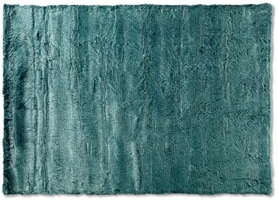 Fox vloerkleed - blauw - 160x230