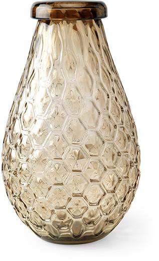 Feelings Honeycomb vaas 39(h) brown Woonaccessoire