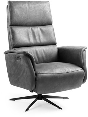 Feelings Ian relaxfauteuil large 3M 2895 antraciet Bank