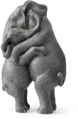 Feelings Knuffelende olifant  Woonaccessoire