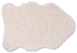 Feelings Schaap vloerkleed curley cream Curley cream Woonaccessoire