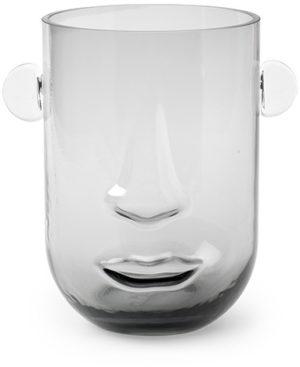 Feelings Small face vaas grijs Woonaccessoire