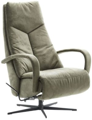 IN.House Relaxfauteuil Lomani groen  Fauteuil