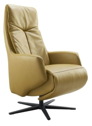IN.House Relaxfauteuil Rizano L geel  Fauteuil