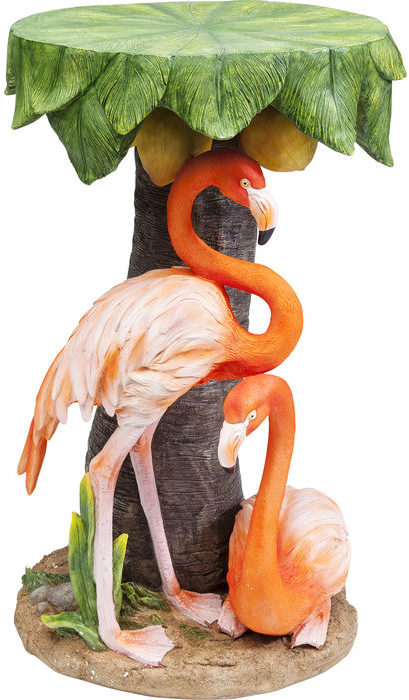 Bijzettafel Table Animal Flamingo Road Ø36cm Kare Design Bijzettafel 80931