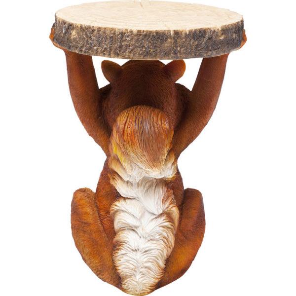 Bijzettafel Table Animal Mini Squirrel Ø25cm Kare Design Bijzettafel 80932