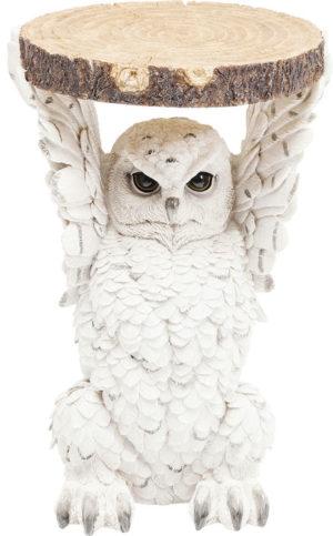 Bijzettafel Table Animal Owl Ø35cm Kare Design Bijzettafel 82828