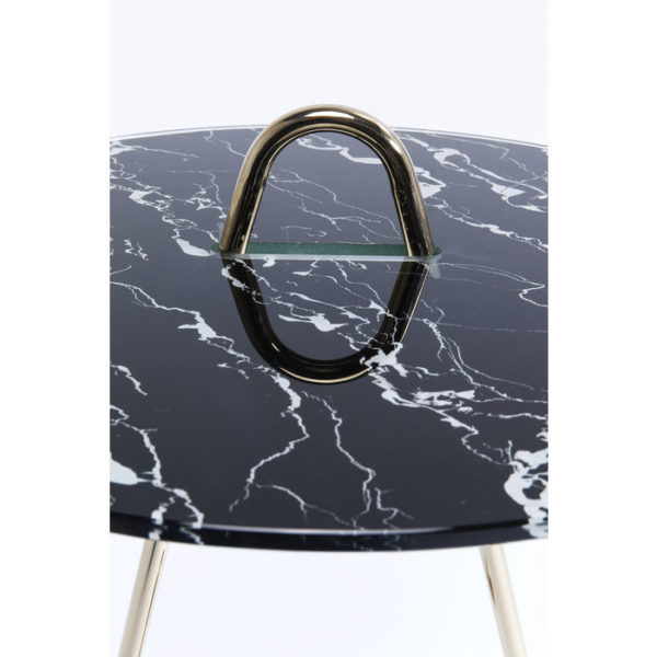 Bijzettafel Table Touch Duo Ø46cm Kare Design Bijzettafel 80969