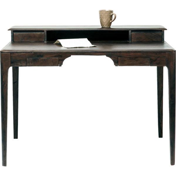 Bureau Brooklyn Walnut 110x70cm Kare Design Bureau 81259
