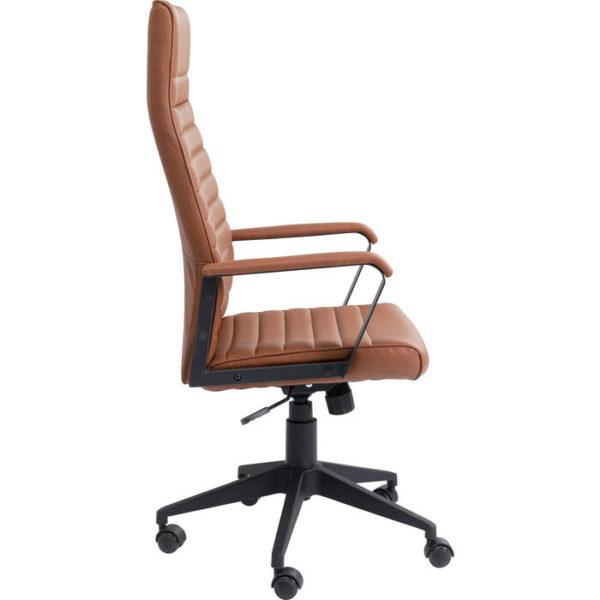 Bureaustoel Chair Labora High Lightbrown Kare Design Bureaustoel 85725