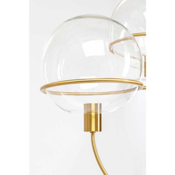 Hanglamp Lamp Lantern 4rs Brass Kare Design Hanglamp 52782