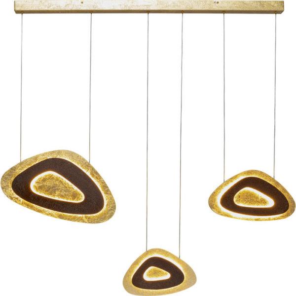 Hanglamp Lamp Triangolo Tre LED 120 Kare Design Hanglamp 51751