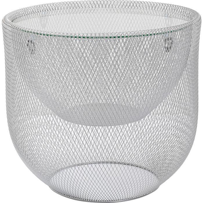 Salontafel Grid Silver -Ø50cm