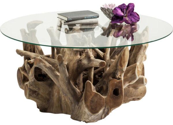 Salontafel Table Roots Ø100cm Kare Design Salontafel 81842
