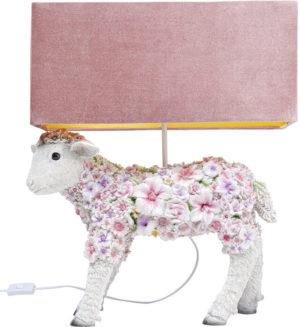 Tafellamp Lamp Animal Flower Sheep Kare Design Tafellamp 53171