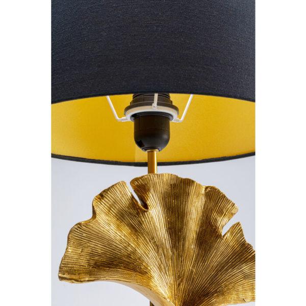 Tafellamp Lamp Leaf Gold Kare Design Tafellamp 53221