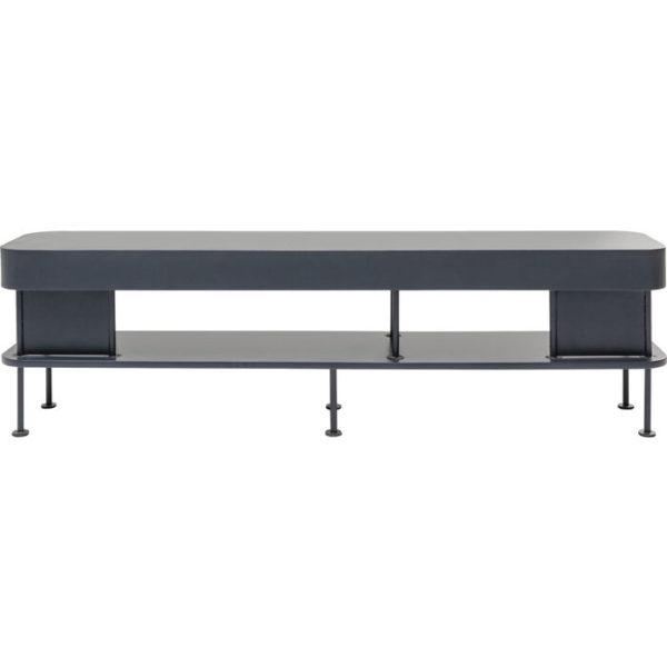 Tv-dressoir|Tv-meubel Shelf Montieri Anthracite 160x46cm Kare Design Tv-dressoir|Tv-meubel 85554