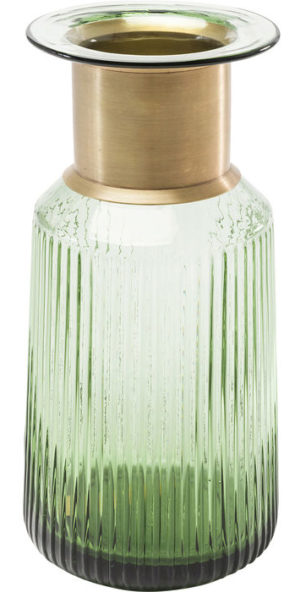 Vaas Barfly Green 30cm Kare Design Vaas 60574