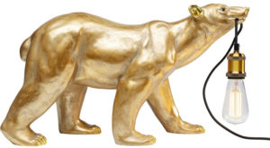 Vloerlamp Lamp Animal Polar Bear Kare Design Vloerlamp 53132
