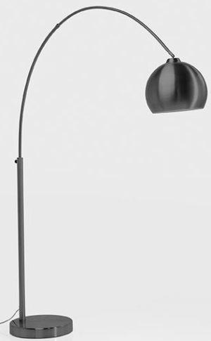 Vloerlamp Lamp Lounge Small Deal Eco Matt Black 175cm Kare Design Vloerlamp 53359