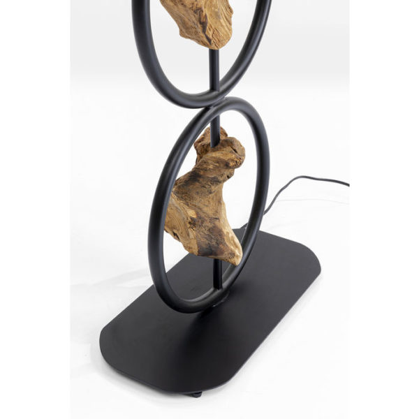 Vloerlamp Lamp Nature Circles Kare Design Vloerlamp 51804