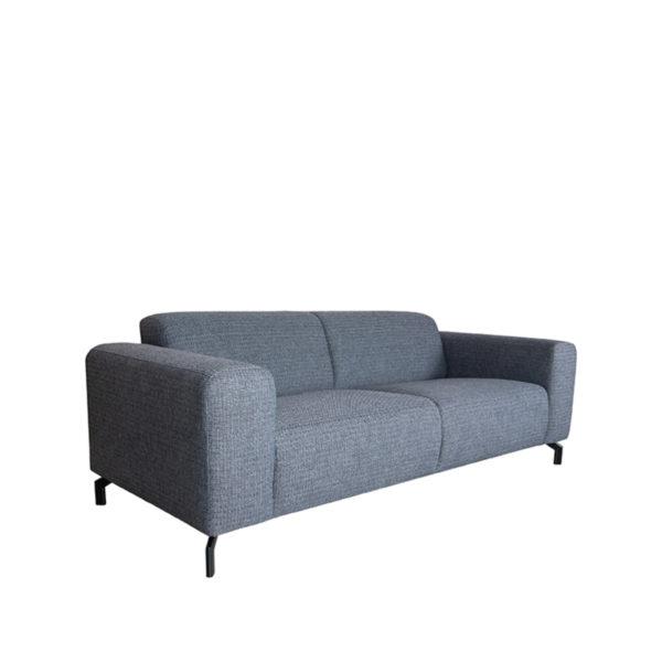 LABEL51 Bank Fano - Antraciet - Texture - 2-zits Antraciet Barstoel