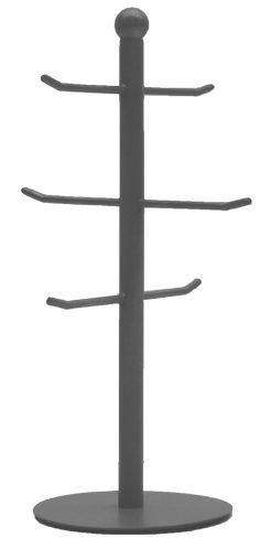 LABEL51 Beker toren - Grijs - Metaal Grijs Krukje