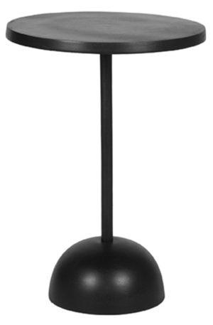 LABEL51 Bijzettafel Spark - Zwart - Metaal Zwart Boekenkast