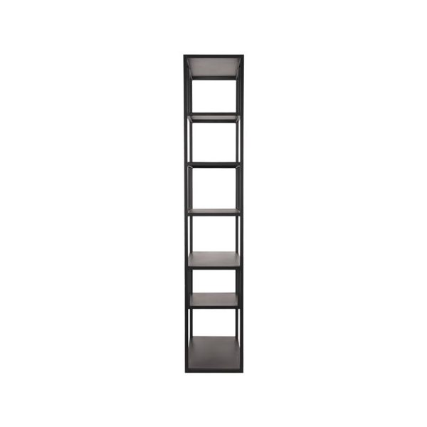 LABEL51 Boekkast Loft - Zwart - Metaal Zwart Bureau