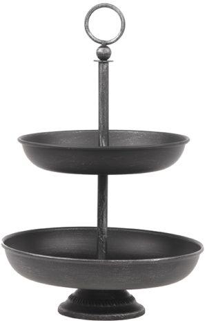 LABEL51 Etagere - Zwart - Metaal Zwart Woondecoratie