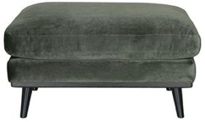 LABEL51 Hocker Siena - Army green - Fluweel Army green Hoekbank
