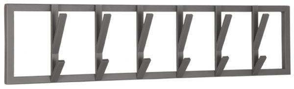 LABEL51 Kapstok Frame - Burned Steel - Metaal - XL Burned steel Woonaccessoire|Woningdecoratie
