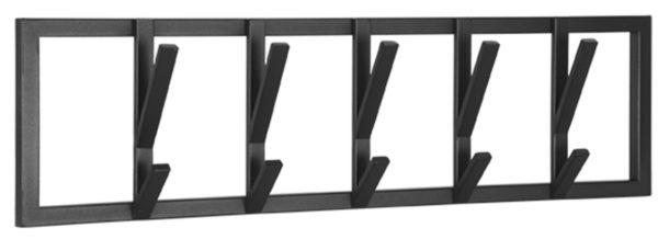 LABEL51 Kapstok Frame - Zwart - Metaal - L Zwart Woonaccessoire|Woningdecoratie
