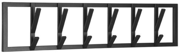 LABEL51 Kapstok Frame - Zwart - Metaal - XL Zwart Woonaccessoire|Woningdecoratie