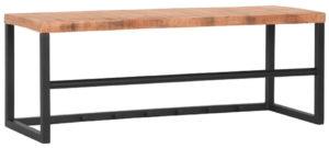 LABEL51 Kapstok Swing - Zwart - Mangohout Zwart Woonaccessoire|Woningdecoratie