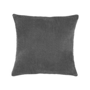 LABEL51 Rib - Donkergrijs - Katoen Donkergrijs Woondecoratie