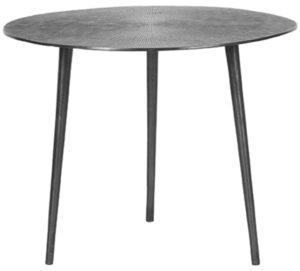 LABEL51 Salontafel Nobby - Grijs - Metaal - 50 cm Grijs Bijzettafel
