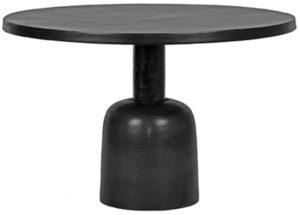 LABEL51 Salontafel Wink - Zwart - Metaal Zwart Bijzettafel