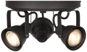 LABEL51 Spot Max led - Zwart - Metaal - 3 Lichts Zwart Tafellamp