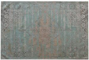 Livingfurn Vloerkleed Brix Kelly Aqua 170x240 cm  Vloerkleed
