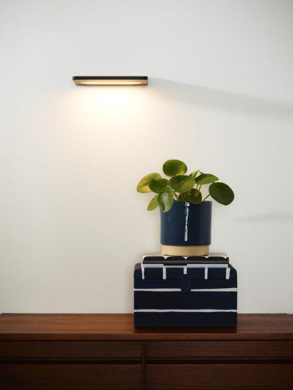 Boro wandlamp - zwart Lucide Wandlamp 17207/08/30