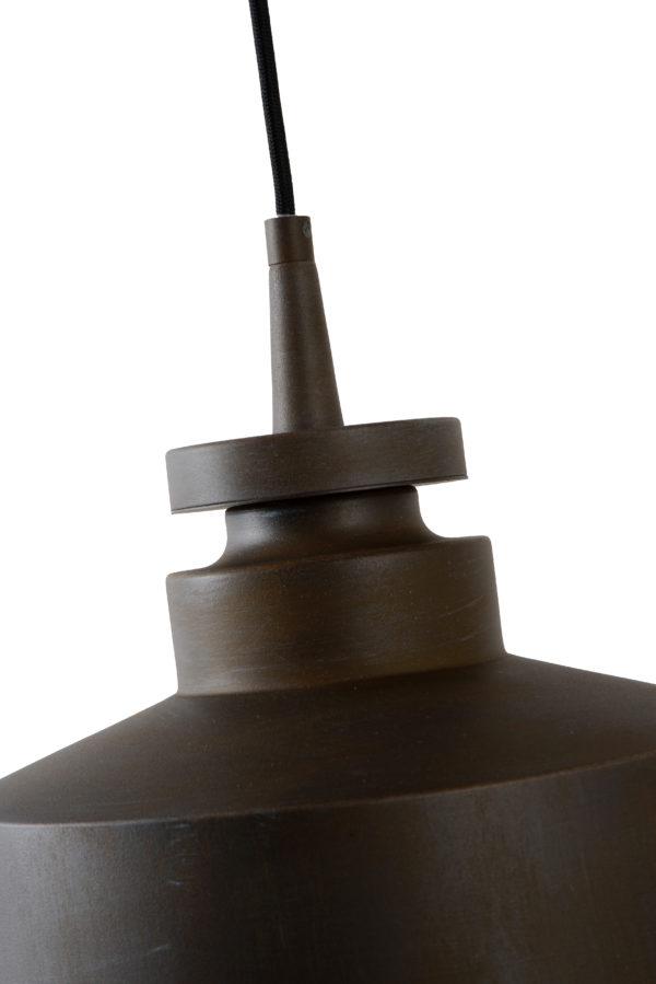 Camus hanglamp - roest bruin Lucide Hanglamp 45451/30/97