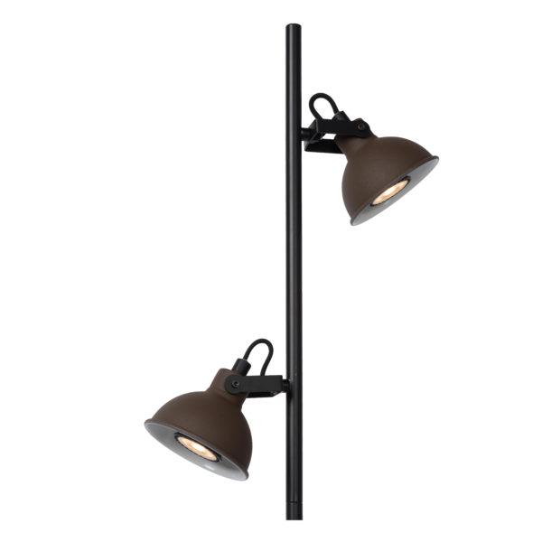 Damian vloerlamp - zwart Lucide Vloerlamp 45773/02/97