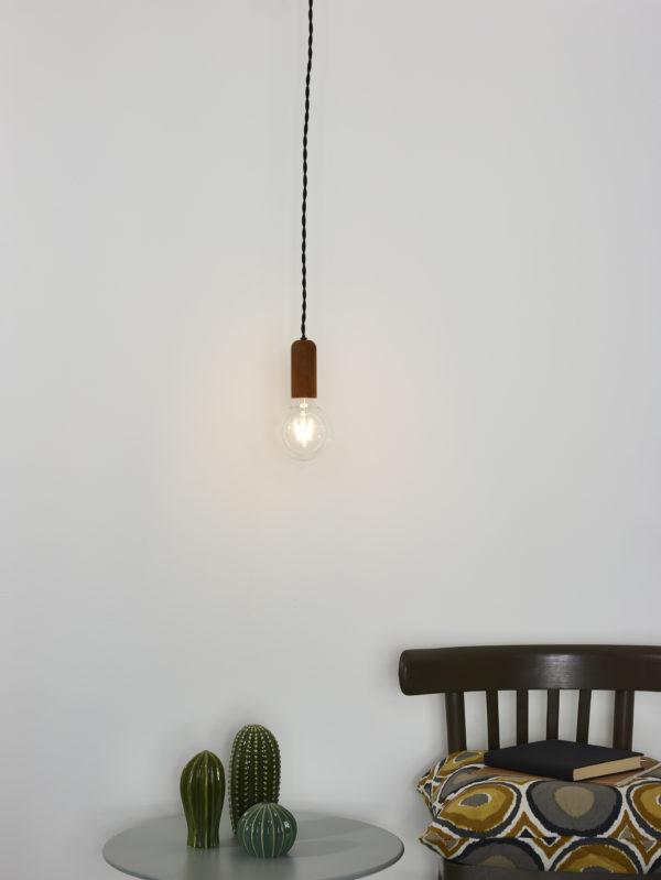 Droopy hanglamp - zwart Lucide Hanglamp 30490/01/97
