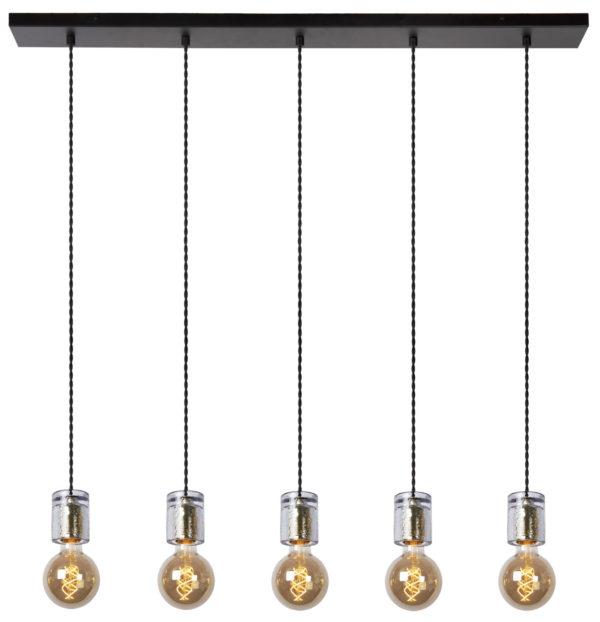 Gelka hanglamp - zwart Lucide Hanglamp 20416/05/65