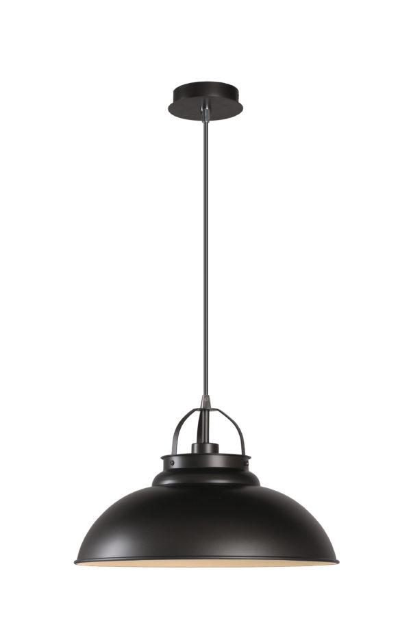 Hamois hanglamp - grijs ijzer Lucide Hanglamp 31348/01/15